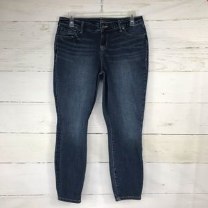 Torrid High Rise Curvy Jeans Ankle Cropped 14R
